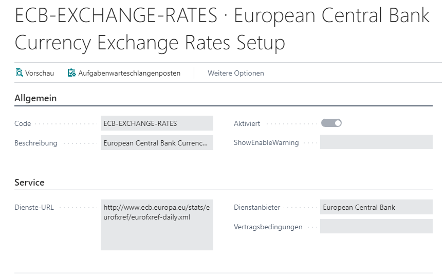 Währungen Wechselkurs Dienst